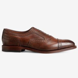 Strand Cap-Toe Oxford, 2305 Cigar, blockout
