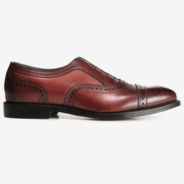 Strand Cap-Toe Oxford, 1626 Oxblood, blockout