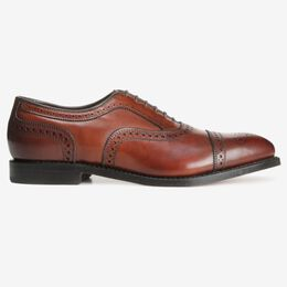 Strand Cap-Toe Oxford, 1623 Dark Chili, blockout