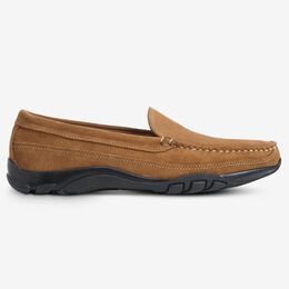 Boulder Suede Venetian Driving Moccasin, 3456 Tan Suede, blockout