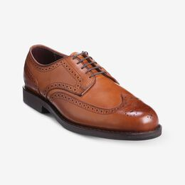 New York Travel Wingtip Oxford, 2886 Walnut, blockout