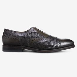 Strand Weave Cap-Toe Oxford, 3393 Burnished Olive, blockout