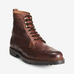 Long Branch Wingtip Boots, 6021 Brown, blockout