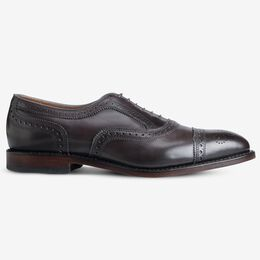 Strand Cap-Toe Oxford, 2301 Carbon, blockout