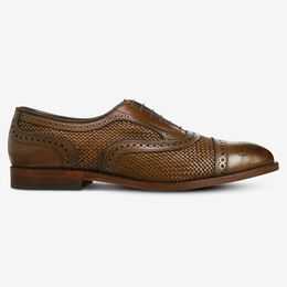 Strand Weave Cap-Toe Oxford, 3403 Burnished Copper, blockout