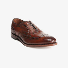 McAllister Wingtip Oxford, 6202 Dark Chili, blockout