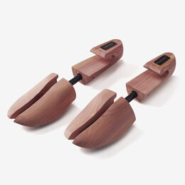 Combination Cedar Shoe Trees, Mens X-Small, blockout