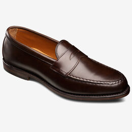 Patriot Shell Cordovan Loafer, 4966 Brown, blockout