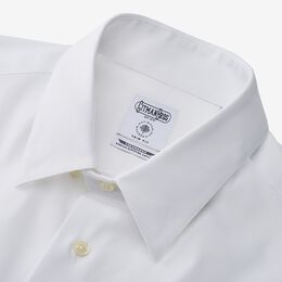 White Sport Shirt by Gitman Brothers, 1014680 White, blockout