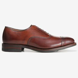 Fifth Avenue Cap-Toe Oxford with Dainite Rubber Sole, 5716 Dark Chili, blockout