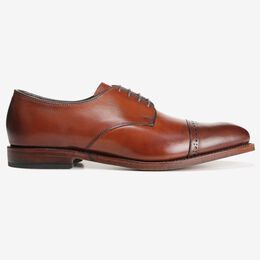 Boulevard Cap Toe Dress Shoe, 7483 Dark Chili, blockout