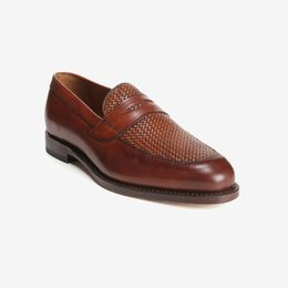 Lake Bluff Weave Dress Loafer, 1088 Dark Chili, blockout